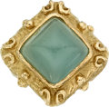 Estate Jewelry:Rings, Aquamarine, Gold Ring, Katy Briscoe. ...