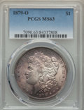Morgan Dollars: , 1879-O $1 MS63 PCGS. PCGS Population: (3819/2709). NGC Census: (2363/1489). CDN: $240 Whsle. Bid for problem-free NGC/PCGS ...
