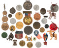 Political:Pinback Buttons (1896-present), Hudson-Fulton Exposition and More: Group Lot of Assorted E...
