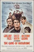 "Movie Posters:War, The Guns of Navarone (Columbia, 1961). One Sheet (27"" X 41"") &Uncut Pressbook (14 Pages, 14"" X 15.5""). War.. ... (Total: 2 Items)"