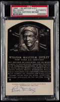 Autographs:Post Cards, 1956-63 Bill Dickey Signed Artvue Hall of Fame Postcard PSA/DNAAuthentic....