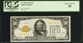 Small Size:Gold Certificates, Fr. 2404 $50 1928 Gold Certificate. PCGS Choice About New 55.. ...