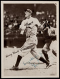 "Autographs:Sports Cards, Signed 1936 R311 Baseball Premium Henry ""Hank' Greenberg...."