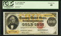 Large Size:Gold Certificates, Fr. 1214 $100 1882 Gold Certificate PCGS Extremely Fine 40.. ...