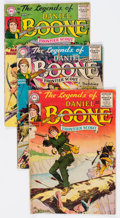 Silver Age (1956-1969):Adventure, Legends of Daniel Boone #1, 2, and 7 Group (DC, 1955-56) Condition: Average GD.... (Total: 3 Comic Books)