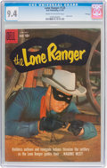 Silver Age (1956-1969):Western, Lone Ranger #128 File Copy (Dell, 1959) CGC NM 9.4 Cream tooff-white pages....