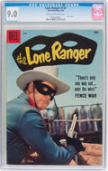 Silver Age (1956-1969):Western, Lone Ranger #120 (Dell, 1958) CGC VF/NM 9.0 Cream to off-white pages....