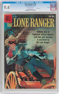 Silver Age (1956-1969):Western, Lone Ranger #130 File Copy (Dell, 1959) CGC NM 9.4 Off-whitepages....