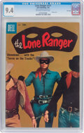 Silver Age (1956-1969):Western, Lone Ranger #121 File Copy (Dell, 1958) CGC NM 9.4 Off-white towhite pages....