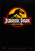 "Movie Posters:Science Fiction, Jurassic Park (Universal, 1993). One Sheet (27"" X 40"") AdvanceYellow Style. Science Fiction.. ..."