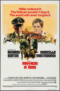 "Massacre in Rome & Other Lot (National General, 1973). One Sheets (2) (27"" X 41""). War. ... (Total: 2..."