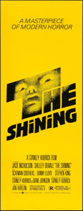"Movie Posters:Horror, The Shining (Warner Brothers, 1980). Insert (14"" X 36""). Horror....."