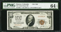 National Bank Notes:Colorado, Denver, CO - $10 1929 Ty. 1 The United States NB Ch. # 7408. ...