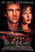 "Movie Posters:Action, Braveheart (Paramount, 1995). International One Sheet (27"" X 40"") DS Style C . Action.. ..."