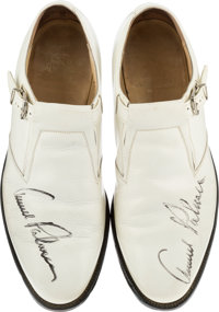 6386a9931c12c2 1970 s Arnold Palmer Match Worn   Signed Golf Shoes