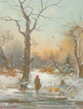 , Oswald (19th Century)A Winter Walk,...