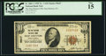 National Bank Notes:Pennsylvania, Hop Bottom, PA - $10 1929 Ty. 1 The Hop Bottom NB Ch. # 9647. ...