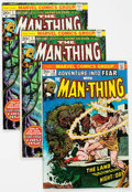 Bronze Age (1970-1979):Horror, Man-Thing Group of 10 (Marvel, 1973-75) Condition: Average VG....(Total: 10 Comic Books)