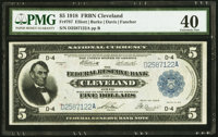 Fr. 787 $5 1918 Federal Reserve Bank Note PMG Extremely Fine 40