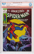 Silver Age (1956-1969):Superhero, The Amazing Spider-Man #70 Verified Signature (Marvel, 1969) CBCS VF+ 8.5 White pages....