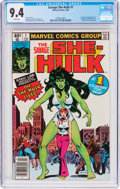 Modern Age (1980-Present):Superhero, The Savage She-Hulk #1 (Marvel, 1980) CGC NM 9.4 White pages....