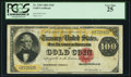Large Size:Gold Certificates, Fr. 1209 $100 1882 Gold Certificate PCGS Very Fine 25.. ...