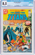 Modern Age (1980-Present):Superhero, New Teen Titans #2 (DC, 1980) CGC VF+ 8.5 White pages....