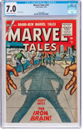 Golden Age (1938-1955):Science Fiction, Marvel Tales #141 (Atlas, 1955) CGC FN/VF 7.0 Off-white to whitepages....