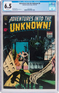 Golden Age (1938-1955):Horror, Adventures Into The Unknown #8 (ACG, 1949) CGC FN+ 6.5 Whitepages....