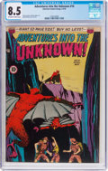 Golden Age (1938-1955):Horror, Adventures Into The Unknown #10 (ACG, 1950) CGC VF+ 8.5 Of...