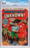 Golden Age (1938-1955):Horror, Adventures Into The Unknown #43 (ACG, 1953) CGC VF+ 8.5 Off-whiteto white pages....