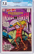 Silver Age (1956-1969):Adventure, The Brave and the Bold #33 Cave Carson (DC, 1961) CGC VF- 7.5 Off-white to white pages....