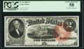 Large Size:Legal Tender Notes, Fr. 53 $2 1880 Legal Tender PCGS Choice About New 58.. ...