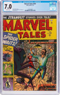 Golden Age (1938-1955):Horror, Marvel Tales #105 (Atlas, 1952) CGC FN/VF 7.0 Off-white pages....