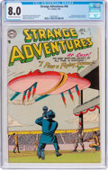 Golden Age (1938-1955):Science Fiction, Strange Adventures #46 (DC, 1954) CGC VF 8.0 Off-white to whitepages....