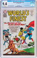 Silver Age (1956-1969):Superhero, World's Finest Comics #124 (DC, 1962) CGC NM 9.4 Off-white pages....
