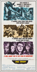 "Movie Posters:War, The Train (United Artists, 1965). Three Sheet (41"" X 79""). War....."