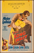 "Movie Posters:Film Noir, The Long Wait & Other Lot (United Artists, 1954). Window Cards (2) (14"" X 22""). Film Noir.. ... (Total: 2 Items)"