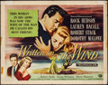 "Movie Posters:Drama, Written on the Wind (Universal International, 1956). Half Sheet(22"" X 28""). Drama.. ..."