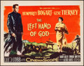 "Movie Posters:Drama, The Left Hand of God (20th Century Fox, 1955). Half Sheet (22"" X28""). Drama.. ..."