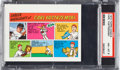 Baseball Cards:Singles (1970-Now), 1973 Topps Test Comics Carl Yastrzemski PSA NM-MT 8 - Pop Three,None Higher. ...
