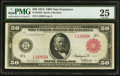 Large Size:Federal Reserve Notes, Fr. 1023b $50 1914 Red Seal Federal Reserve Note PMG Very Fine 25.. ...