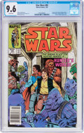Modern Age (1980-Present):Science Fiction, Star Wars #85 (Marvel, 1984) CGC NM+ 9.6 White pages....
