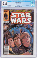 Modern Age (1980-Present):Science Fiction, Star Wars #100 (Marvel, 1985) CGC NM+ 9.6 White pages....