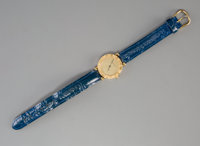 An 18K Gold Tiffany & Co. Lady's Wrist Watch, New York Marks: TIFFANY & CO, 18K, (various) 8 inches