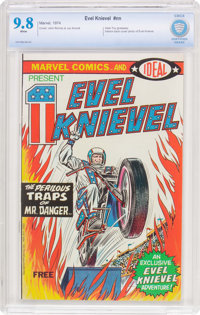 Evel Knievel #nn (Marvel, 1974) CBCS NM/MT 9.8 White pages