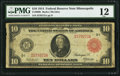 Large Size:Federal Reserve Notes, Fr. 900b $10 1914 Red Seal Federal Reserve Note PMG Fine 12.. ...