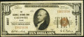 National Bank Notes:Texas, Caldwell, TX - $10 1929 Ty. 1 The Caldwell NB Ch. # 6607. ...