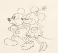 Animation Art:Production Drawing, The Pet Store Mickey Mouse and Minnie Mouse Animation Drawing (Walt Disney, 1933). ...