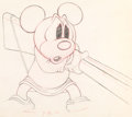 Animation Art:Production Drawing, Mickey's Parrot Mickey Mouse Animation Drawing (Walt Disney,1938).. ...